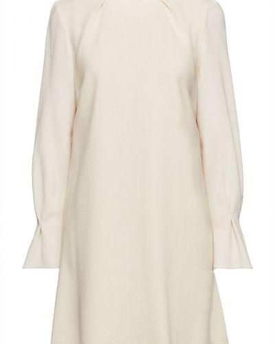 Шерстяное платье мини - бежевое Goat