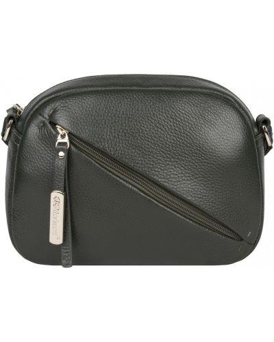 Мягкая сумка из натуральной кожи на молнии Franchesco Mariscotti