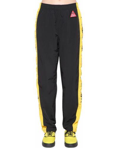 Спортивные брюки в полоску с поясом Polo Ralph Lauren