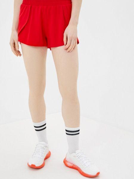 Красные спортивные шорты 4f