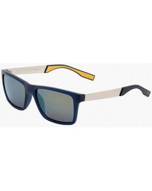 Синие солнцезащитные очки квадратные с завязками Enni Marco