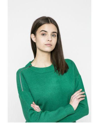 Зеленый свитер в полоску Vero Moda