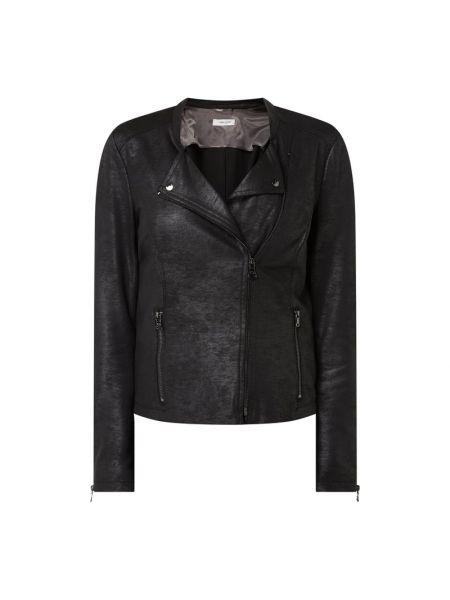 Czarna kurtka z wiskozy Gerry Weber