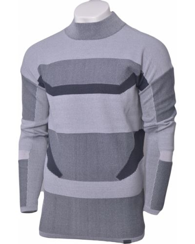 Szary sweter z długimi rękawami Under Armour