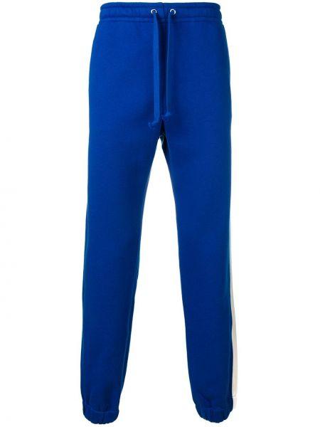 Niebieskie joggery bawełniane Gucci