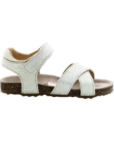 Białe sandały Ocra