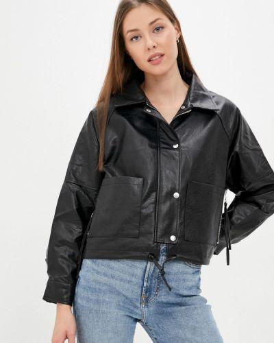 Кожаная куртка - черная Softy