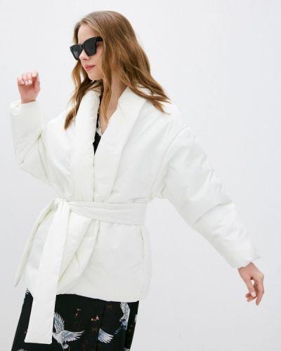 Утепленная белая куртка Imocean