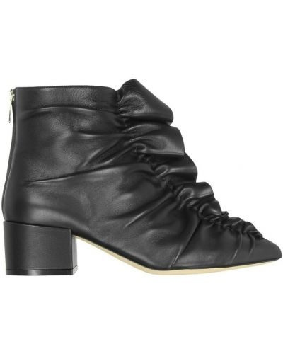 Czarne ankle boots Sergio Rossi