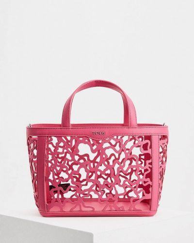 Розовая сумка Tous