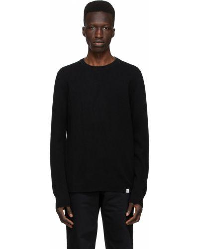 Sweter wełniany - czarny Norse Projects