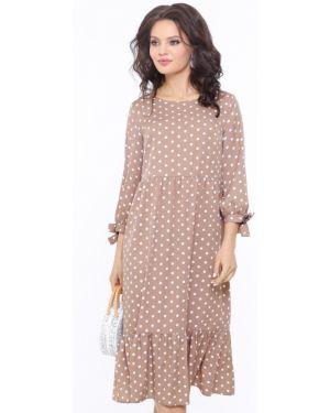 Платье платье-сарафан с рукавами Dstrend