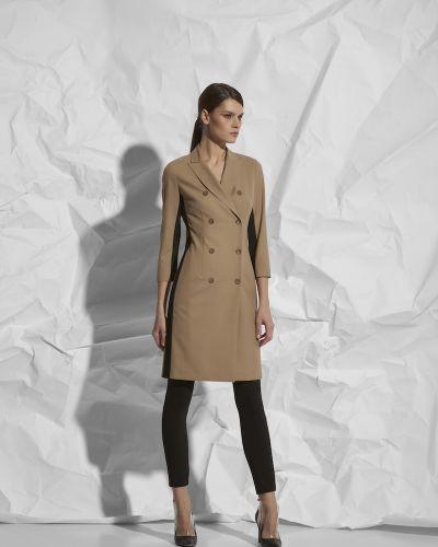 Платье со вставками двубортное Vassa&co