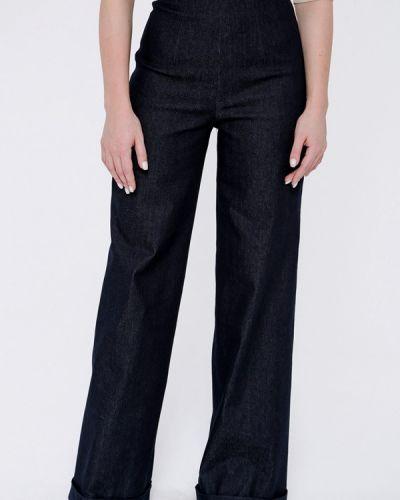 Широкие джинсы расклешенные черные Batista Fashion