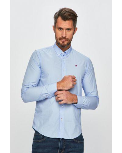 Рубашка с длинным рукавом тонкая синий Scotch & Soda
