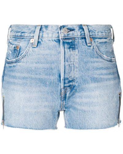 Синие джинсовые шорты Levi's®