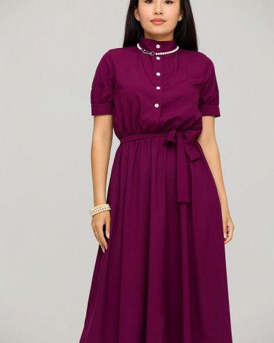 Красное прямое платье Karree