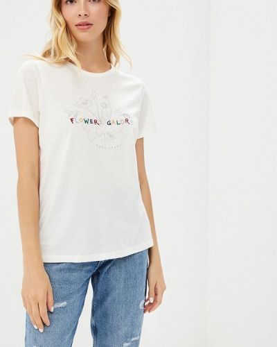 Белая футболка Pepe Jeans