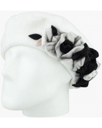 Белая шапка осенняя Lak Miss