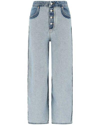 Niebieskie mom jeans Mm6 Maison Margiela