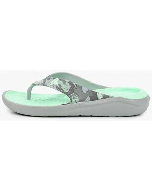 Сланцы пляжные серый Crocs
