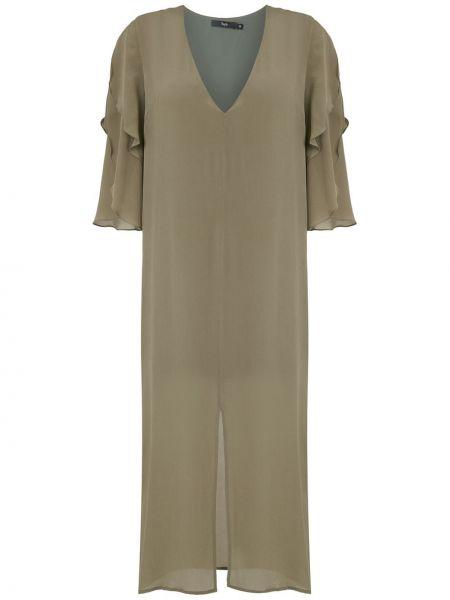 Платье с вырезом на молнии Magrella