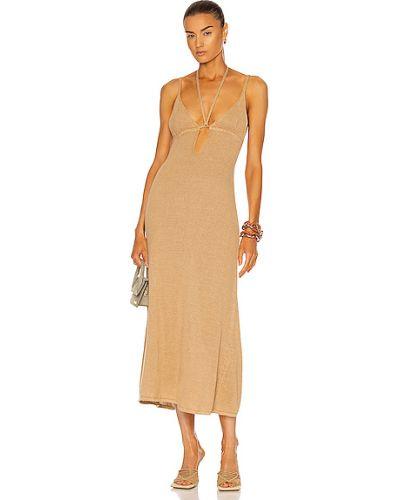 Льняное платье Cult Gaia
