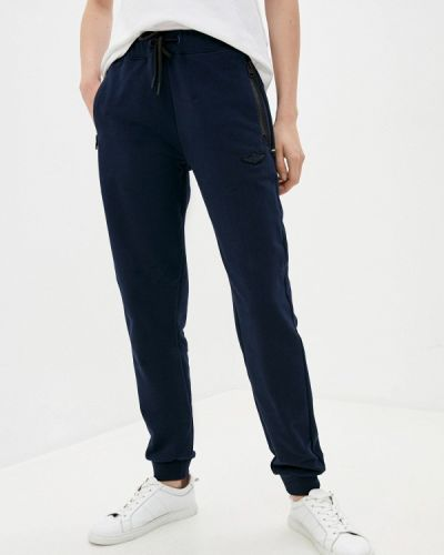Синие спортивные брюки Aeronautica Militare