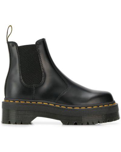 Ботинки челси черные черные Dr. Martens