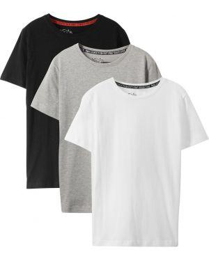 Черная футболка Bonprix