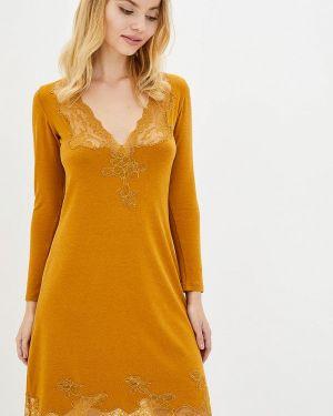 Платье - оранжевое Komilfo