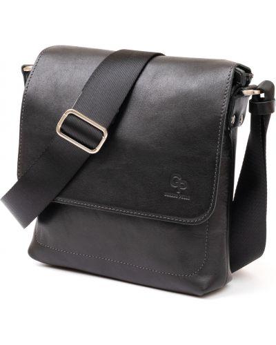 Кожаная сумка - черная Grande Pelle