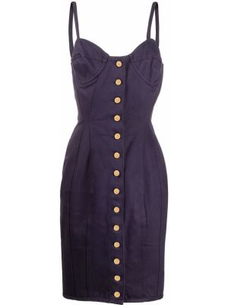 Платье винтажная на пуговицах Jean Paul Gaultier Pre-owned
