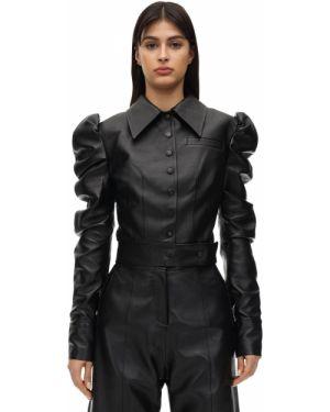 Кожаная куртка с манжетами с подкладкой Matériel
