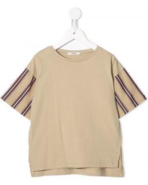 Коричневая футболка Fith