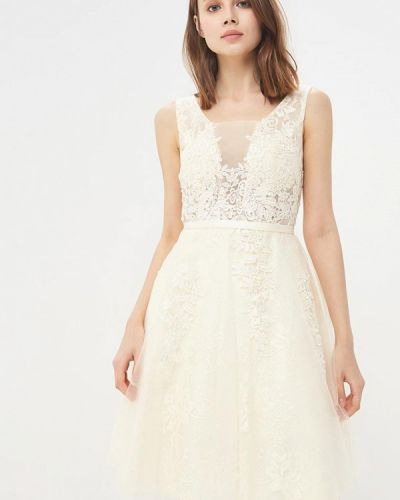 Вечернее платье - бежевое Paccio