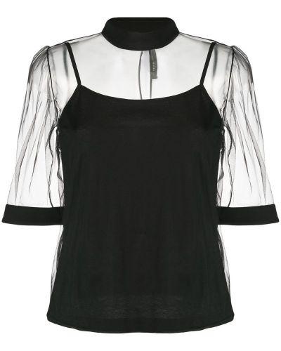 Блузка прозрачная прямая Federica Tosi