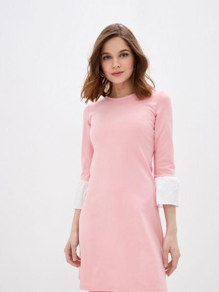 Платье розовое на тонких бретелях Nothing But Love