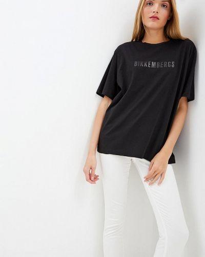 Черная футболка Bikkembergs