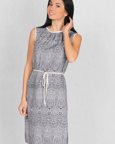 Платье весеннее серое Lila