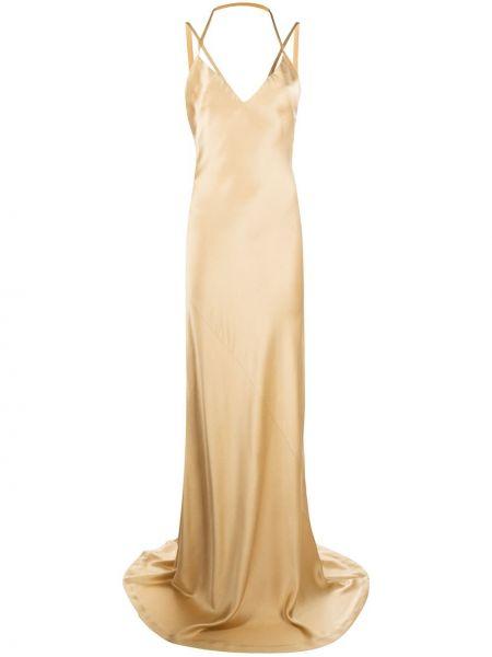 Sukienka dla wysokich kobiet z jedwabiu Haider Ackermann