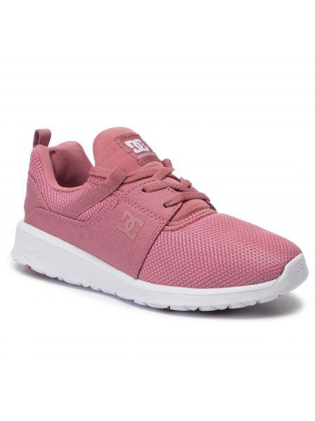 Sneakersy różowy Dc