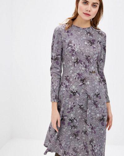 Платье осеннее фиолетовый Royal Elegance