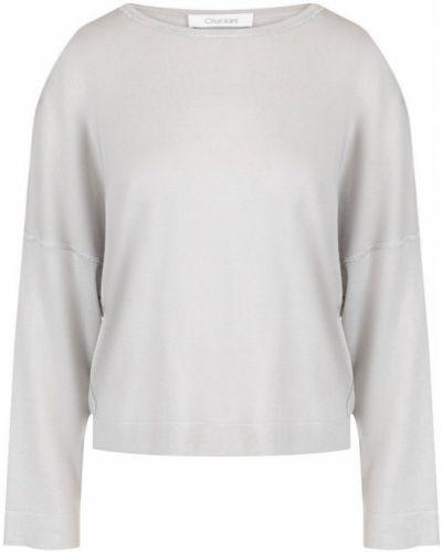 Серый свитер свободного кроя Cruciani