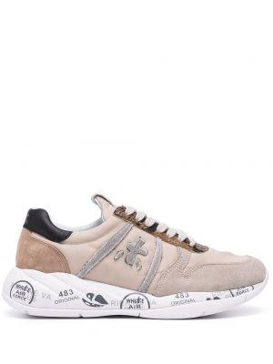 Кожаные кроссовки - коричневые Premiata
