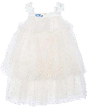 Платье на бретелях без рукавов с декольте с вышивкой Mi.mi.sol.