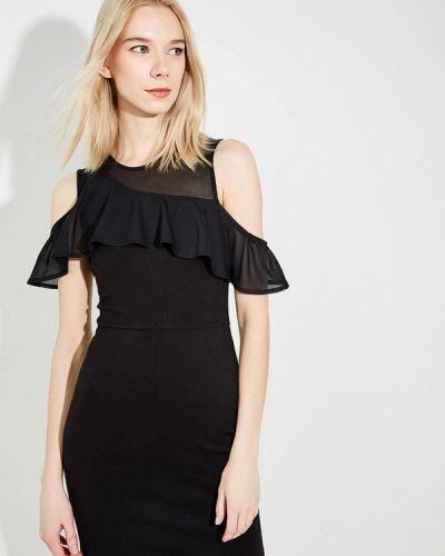 Черное платье футляр French Connection