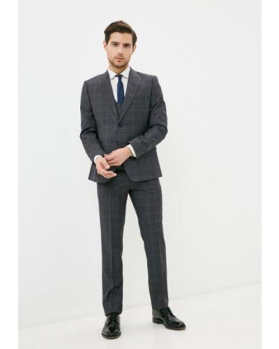 Костюмный серый костюм классический Mason Grace