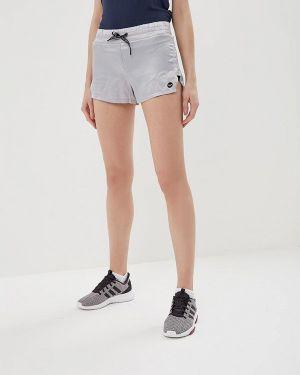 Серебряные спортивные шорты Roxy