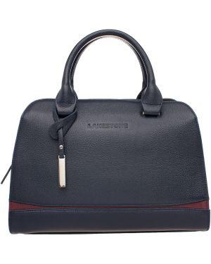 Кожаная сумка вечерняя с ручками Lakestone